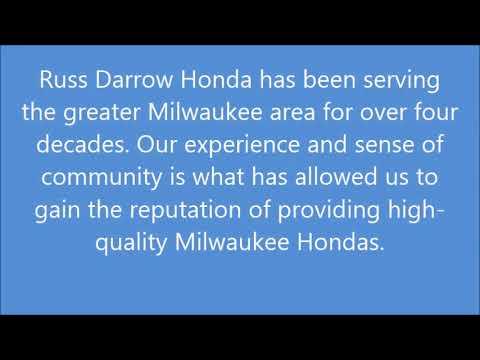 Russ Darrow Honda >> Honda Milwaukee Russ Darrow Honda Youtube