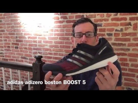 adidas adizero boston BOOST 5 Review