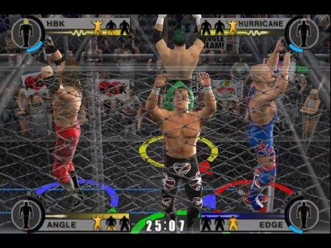 nL, DenkOps, & Pulse Live - WWE Day of Reckoning 2 ONLINE MULTIPLAYER!