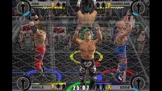 nL, DenkOps, & Pulse Live - WWE Day of Reckoning 2 ONLINE MULTIPLAYER!
