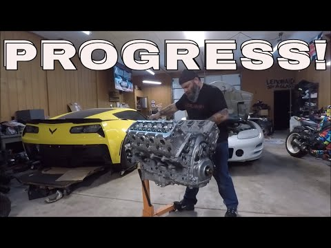 Streetspeed717's Old Corvette WILL Live Again!!