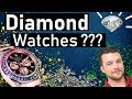 ⌚ Diamond Watches- Should I Bling My Rolex?