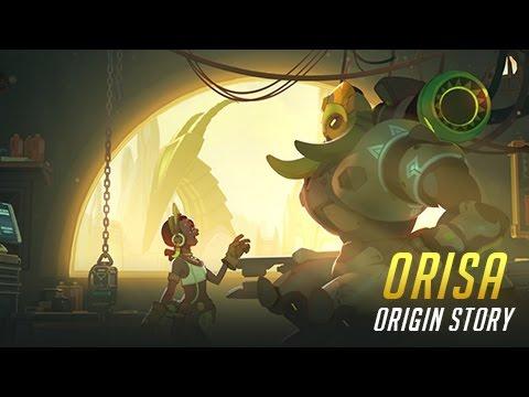 Historia del origen de Orisa   Overwatch