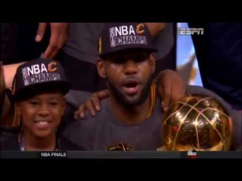 2016 NBA Finals Game 7 post-game coverage Cleveland Cavaliers at Golden State Warriors