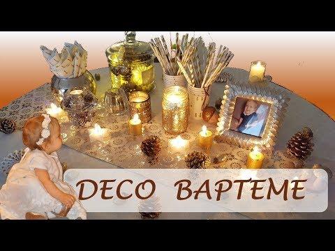 Décoration de Baptême