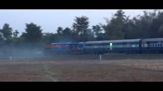 IRFCA SGUJ EMD WDP4 20011 BAZZ honking with Rangiya - Dekargaon Passenger Train thumbnail