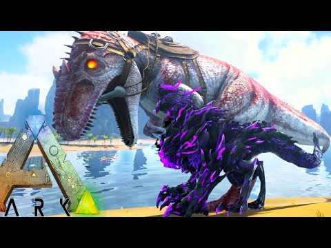 Ark Survival Evolved - ALPHA GIGA, BLACKHEART DRAGON TAMING - Modded Survival Ep68 (Ark Gameplay)