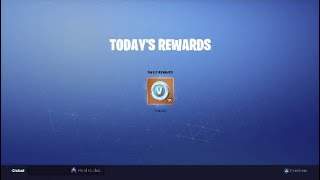 Fortnite best daily login Rewards 1000 vbucks!!!!!!!