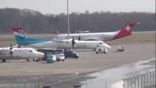 Aeroporto / Aéroport de Luxembourg Findel. (HD) Partie1/3