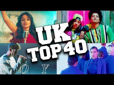 UK Top 40 Songs 2018