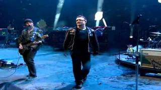 "U2 performing ""With Or Without You"", ""Moment Of Surrender"" at Glans..."