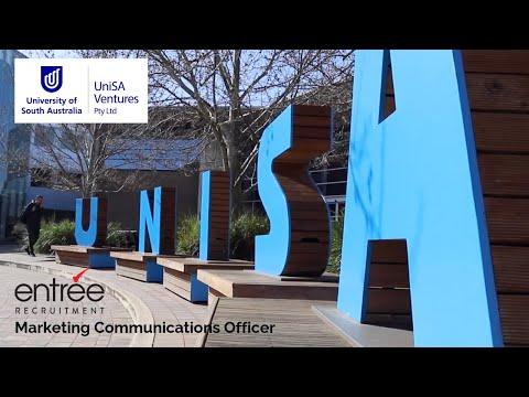 Entree Jobs: University Of SA Ventures Marketing Communications Officer