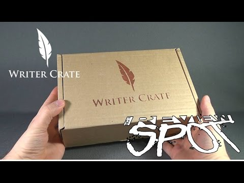 Subscription Spot - Writer Crate Monthly Subscription Box OPENING!