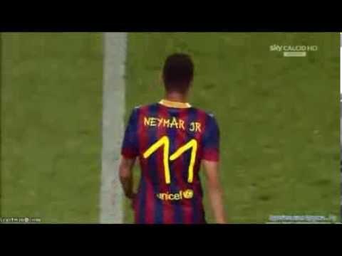 Neymar vs Santos 02/08/2013 HD