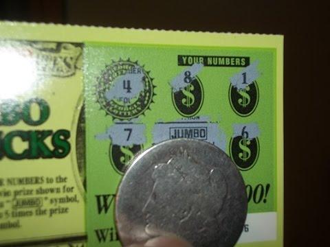 $1 MONDAY~JUNIOR JUMBO BUCKS~GEORGIA LOTTERY TICKETS