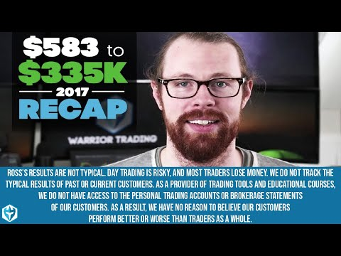The LAST Mid-Day Recap of 2017 from $583 to $335k