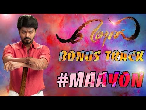 "OFFICIAL: #Mersal Bonus Track Name Is ""Maayon""👌 - Mersal Confirm Diwali Release 