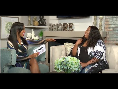 Loni Love BMORE Lifestyle Interview with Chardelle Moore!
