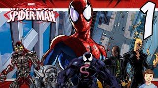 Ultimate Spider-Man Video Game Walkthrough - PART 1 - Spider-Man's Butthole