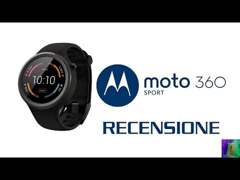 Uno smartwatch per tutti - Recensione Motorola Moto 360 Sport