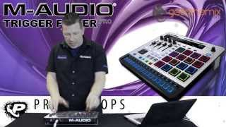 M-audio Trigger Finger Pro Overview With Andy Mac