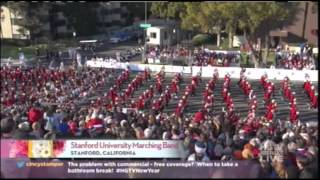 Stanford Band - Rose Parade 2014 Coverage - LSJUMB