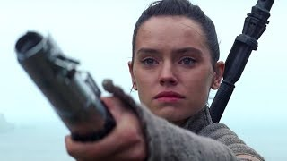 Star Wars: The Force Awakens and Star Wars: The Last Jedi Ahch-To Scenes Combined