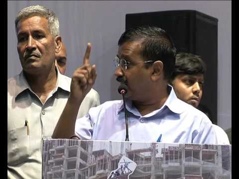 Delhi CM @ArvindKejriwal Speech addresses Shramik Samvad.