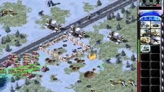 Red Alert 2 - 1 vs 7 Brutal Enemies!!! The Easy Strategy!