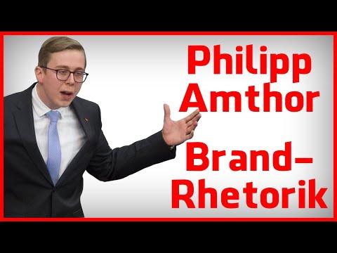 Philipp Amthor Rede - Die Brand-Rethorik in der Analyse