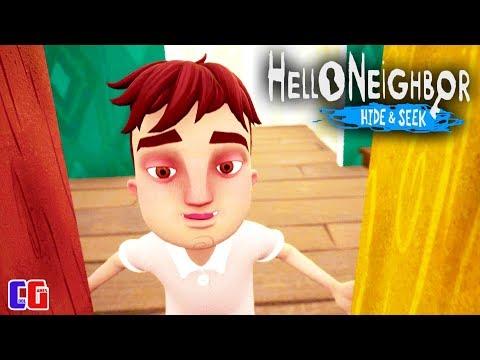 Новый ПРИВЕТ СОСЕД! ДЕТИ ИГРАЮТ В ПРЯТКИ Прохождение Игры Hello Neighbor Hide And Seek от Cool GAMES
