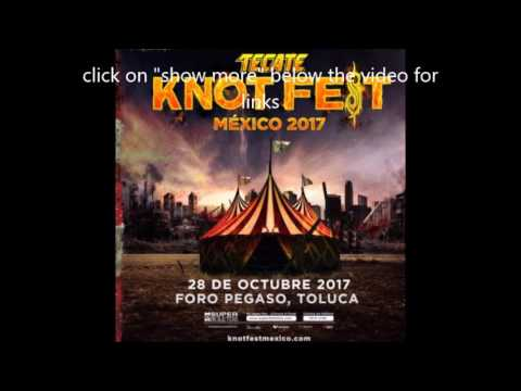 """Slipknot announce 'Knotfest Mexico"""" 2017 on Oct 28th!"""