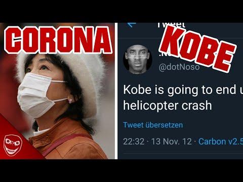Kobe Twitter Vorhersage und Corona Virus! Gruselige Dinge aus dem Internet!
