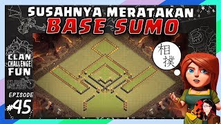 BASE SUMO Yang Susah DIRATAKAN!   CLAN CHALLENGE FUN #45