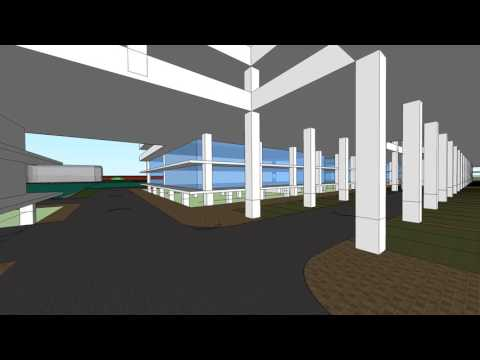 Proposed Mydin Hypermarket Animation