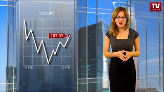 InstaForex tv news: USD continues recovering  (20.02.2018)