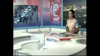 THE 6 PM NEWS EQUNOXE TV DECEMBER 6TH 2017