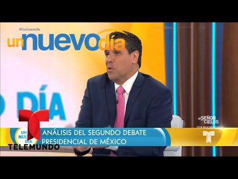 Analizamos el segundo debate presidencial de México | Un Nuevo Día | Telemundo