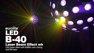 EUROLITE LED B-40 Laser Beam Effect wh