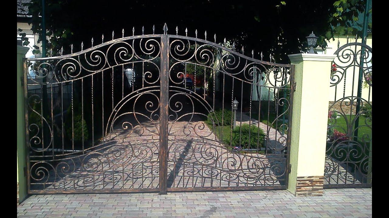 Кованые ворота от компании металл-сити каталог ворот, цена, изготовление, особенности и уход за коваными воротами.