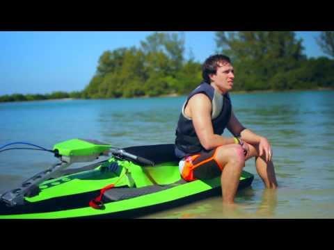 BomBoard - Thrilling Portable Watercraft - YouTube