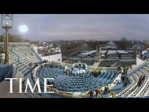Donald Trump Inauguration Time-Lapse At Capitol In VR | 360 Video | TIME
