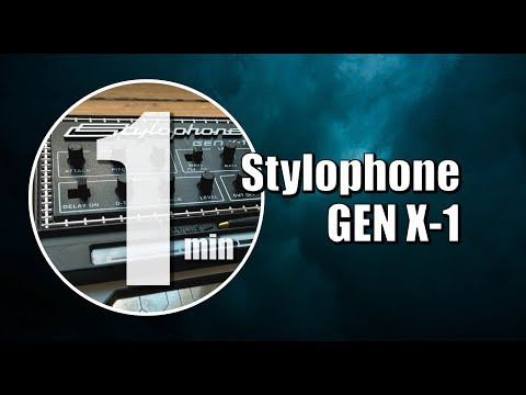 ? [One-Minute Synth #01] Stylophone GEN X-1 (by Dubreq)
