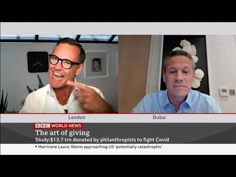 BBC World News Aug 2020 interview with Badr Jafar on Philanthropy