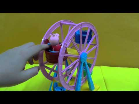 Peppa pig Theme park Ferris Wheel With exclusive peppa pig figure