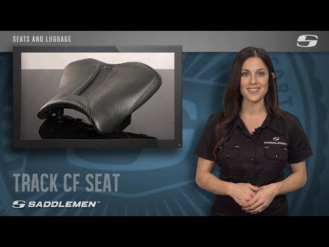 Saddlemen Track One Piece Solo Seat BLK//Carbon Fiber for Yam YZF-R6//S 2003-2010
