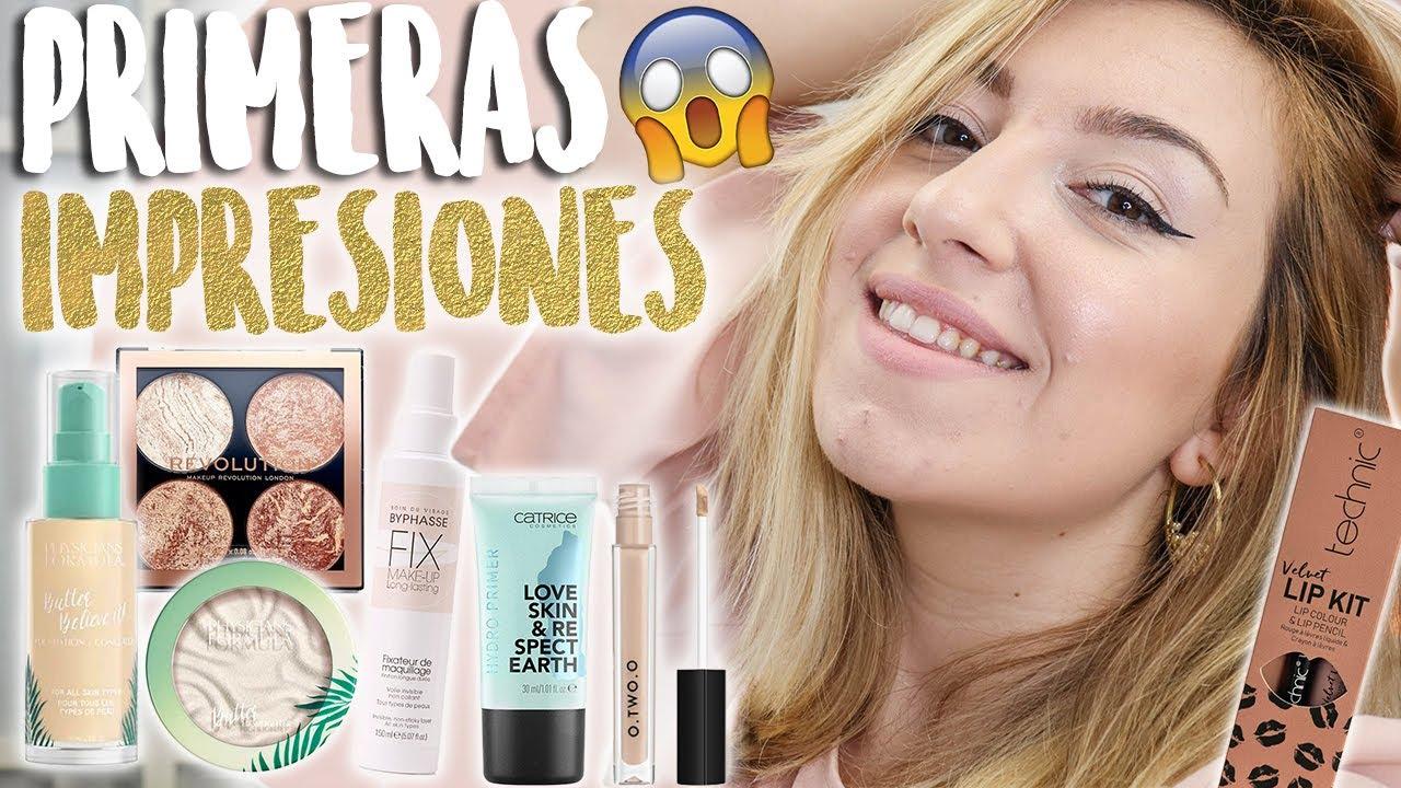 PRIMERAS IMPRESIONES !!🔥 OMG la base!😱   Novedades Primor y Maquillalia   Maquillaje Low Cost HAUL