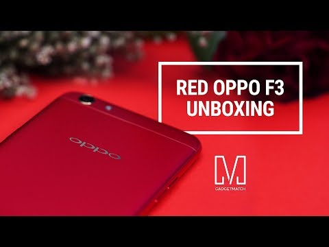 OPPO F3 Unboxing: Limited Red Edition