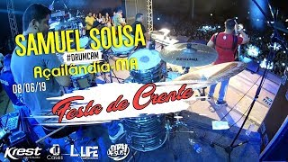 #DrumCam - Festa de Crente