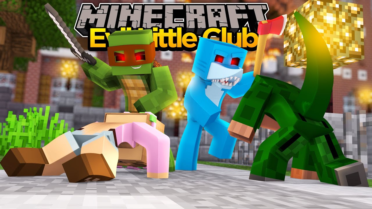 Minecraft evil little club evil little kelly blows up - The little club ...